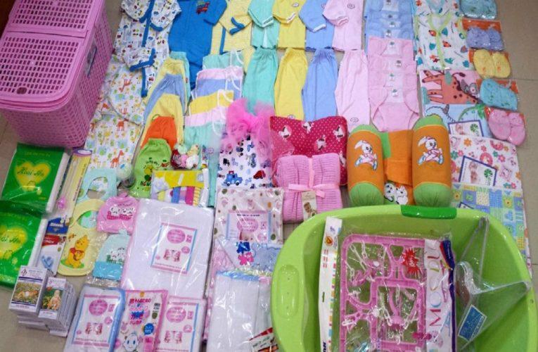 Thị trường đồ dùng trẻ em và những đồ cần thiết cho trẻ sơ sinh