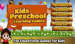 Game giáo dục cho trẻ em trên máy tính